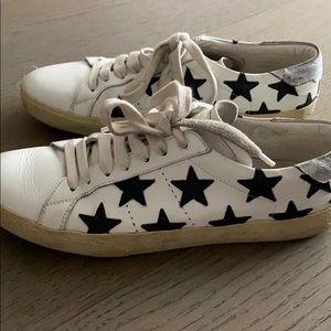 Saint Laurent Starred Sneakers